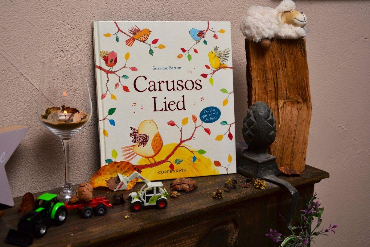 [REZENSION] Kinderbuch: CARUSOS LIED - SUZANNE BARTON